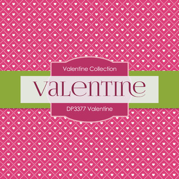 Digital Papers - Valentine (DP3377)