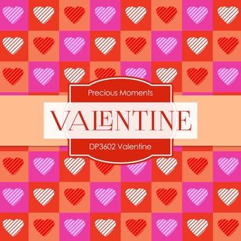 Digital Papers - Valentine (DP3602)