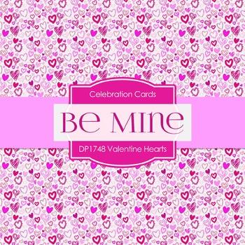 Digital Papers - Valentine Hearts (DP1748)
