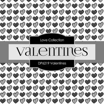 Digital Papers - Valentines (DP6219)