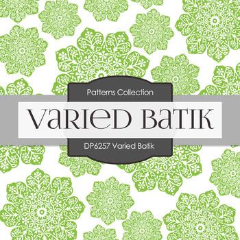 Digital Papers - Varied Batik (DP6257)