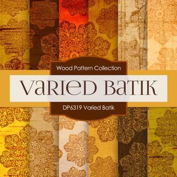 Digital Papers - Varied Batik (DP6319)