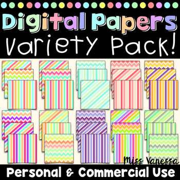 Digital Papers Variety Pack