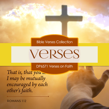 Digital Papers - Verses On Faith (DP6571)