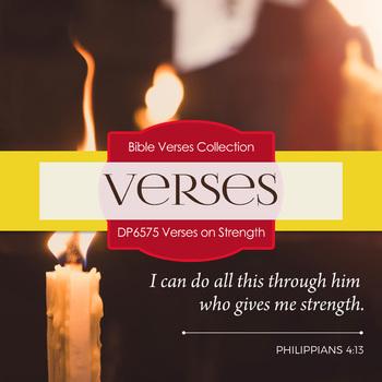 Digital Papers - Verses On Strength (DP6575)