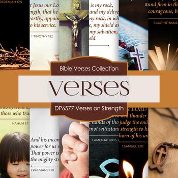 Digital Papers - Verses On Strength (DP6577)