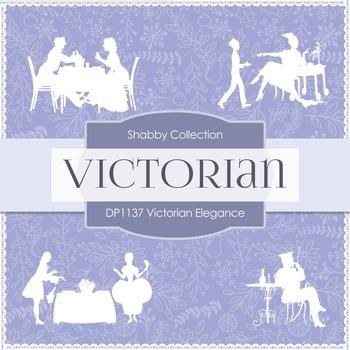 Digital Papers - Victorian Elegance (DP1137)