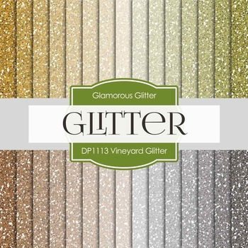 Digital Papers - Vineyard Glitter (DP1113)