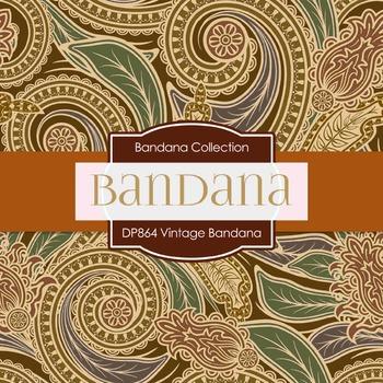 Digital Papers - Vintage Bandana (DP864)