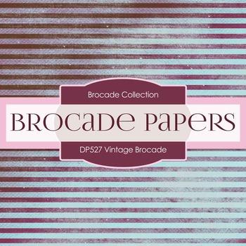 Digital Papers - Vintage Brocade (DP527)