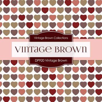 Digital Papers - Vintage Brown (DP920)
