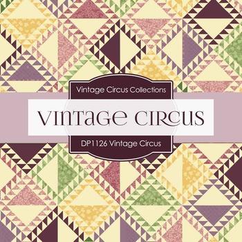 Digital Papers - Vintage Circus (DP1126)