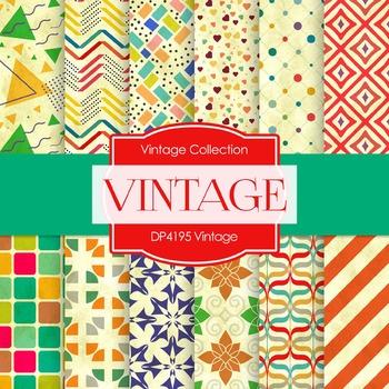 Digital Papers - Vintage (DP4195)