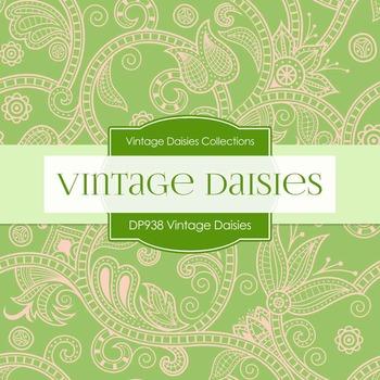 Digital Papers - Vintage Daisies (DP983)