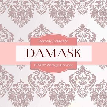 Digital Papers - Vintage Damask (DP2002)