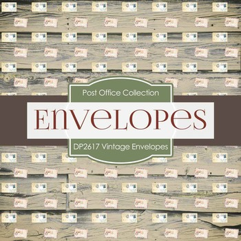 Digital Papers - Vintage Envelopes (DP2617)