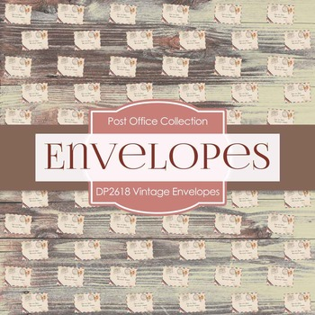 Digital Papers - Vintage Envelopes (DP2618)