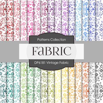 Digital Papers - Vintage Fabric (DP6181)