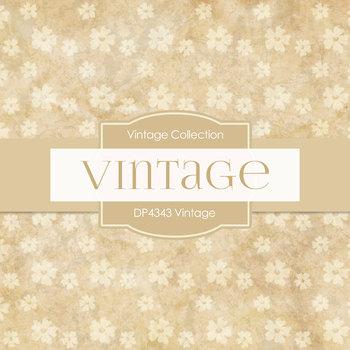 Digital Papers - Vintage Flowers (DP4343)