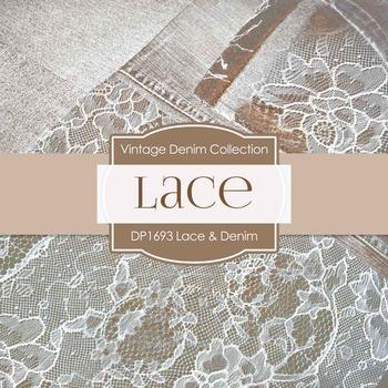 Digital Papers - Vintage Lace (DP1693)