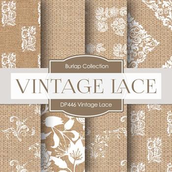 Digital Papers - Vintage Lace (DP446)