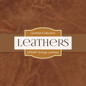 Digital Papers - Vintage Leathers (DP2449)