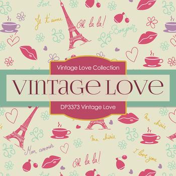 Digital Papers - Vintage Love (DP3373)