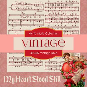 Digital Papers - Vintage Love (DP6489)