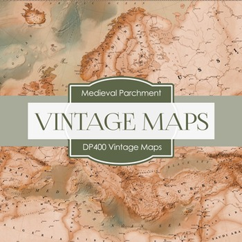 Digital Papers - Vintage Maps (DP400)