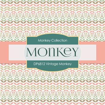 Digital Papers - Vintage Monkey (DP6812)
