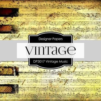 Digital Papers - Vintage Music (DP3017)