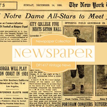 Digital Papers - Vintage News (DP1417)