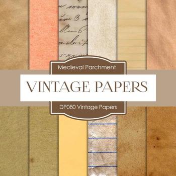 Digital Papers - Vintage Papers (DP080)