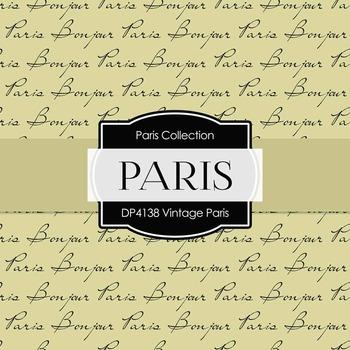 Digital Papers - Vintage Paris (DP4138)
