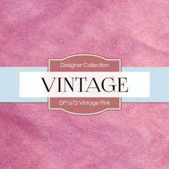 Digital Papers -  Vintage Pink (DP1672)