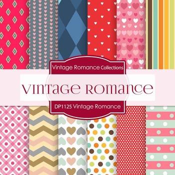 Digital Papers -  Vintage Romance (DP1125)