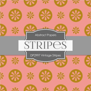 Digital Papers - Vintage Stripes (DP2997)