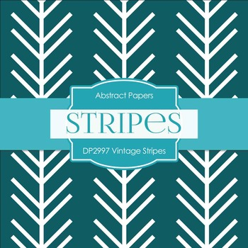 Digital Papers - Vintage Stripes (DP2998)