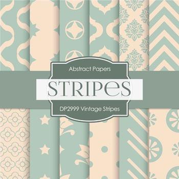 Digital Papers - Vintage Stripes (DP2999)