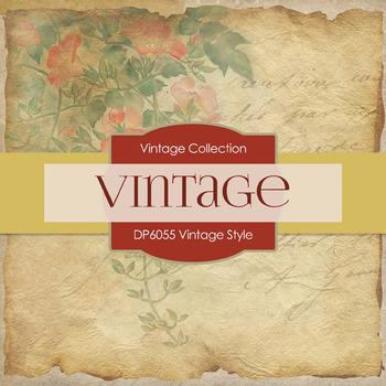 Digital Papers - Vintage Style (DP6055)