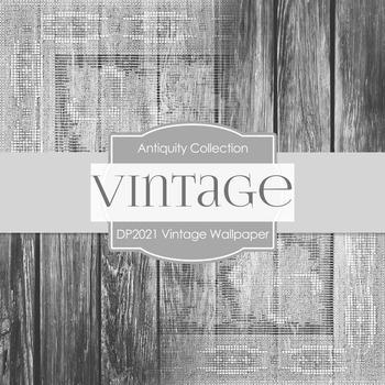 Digital Papers - Vintage Wallpaper (DP2021)