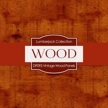 Digital Papers - Vintage Wood Panels (DP093)