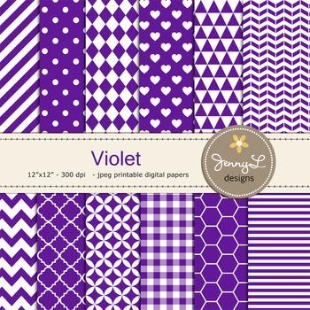 Digital Papers : Violet
