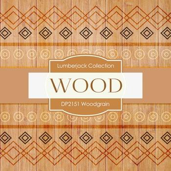 Digital Papers - Woodgrain (DP2151)