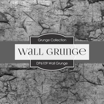 Digital Papers - Wall Grunge (DP6109)