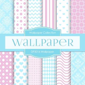 Digital Papers - Wallpaper (DP3016)