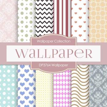 Digital Papers - Wallpaper (DP3764)