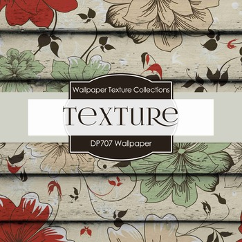 Digital Papers - Wallpaper Textures (DP707)