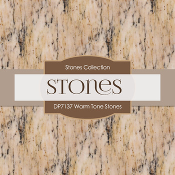 Digital Papers - Warm Tone Stones (DP7137)