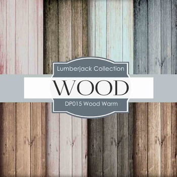 Digital Papers - Warm Wood (DP015)